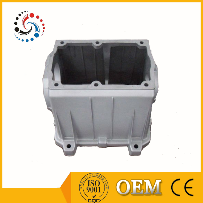 Aluminum die casting part, air compressor housing die-casting