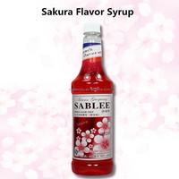Halal Food Sakura Flavoured Syrup Food Flavouring Essence Beverage ...