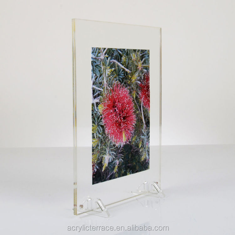 Doppelseitig Freistehende Acryl Fotorahmen,2 Kleine Acryl Füße - Buy ...