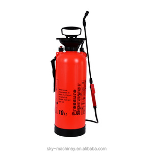 10lt pump plastic garden compression sprayer