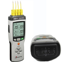Multi Channels Thermocouple thermometer and Data Logger