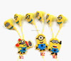 Wholesale Hot Sale Minions Headphones 3.5mm Cute Brand Wired Computer Earphone