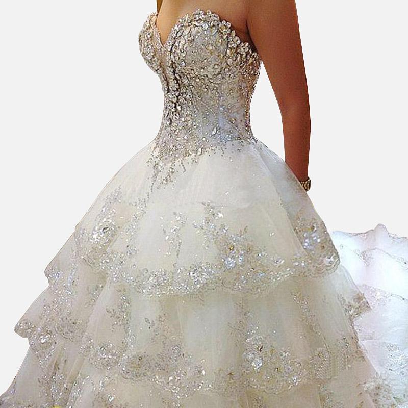 Aliexpress.com : Buy Luxury Wedding Dresses 2015 New Sexy