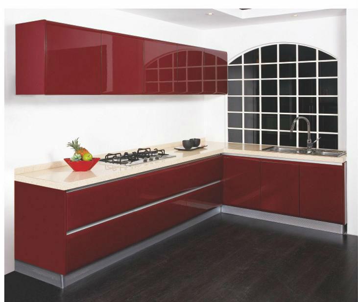 India Laminate Kitchen Cabinets - Buy Uv Door Kitchen Cabinet ...