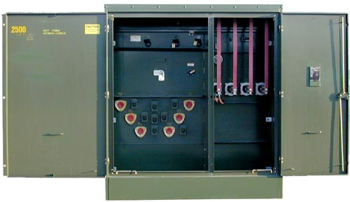 Three Phase Pad Mounted Transformer Ground Electric Power