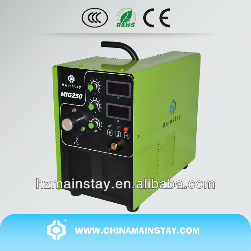 Inverter CO2 Arc 110V MIG Welders MIG-250 IGBT