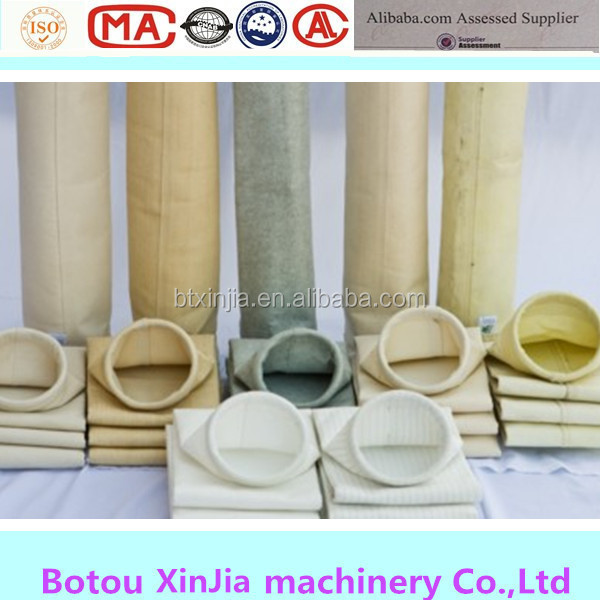 Cement Klin Dust Collector Aramid Filter Bags