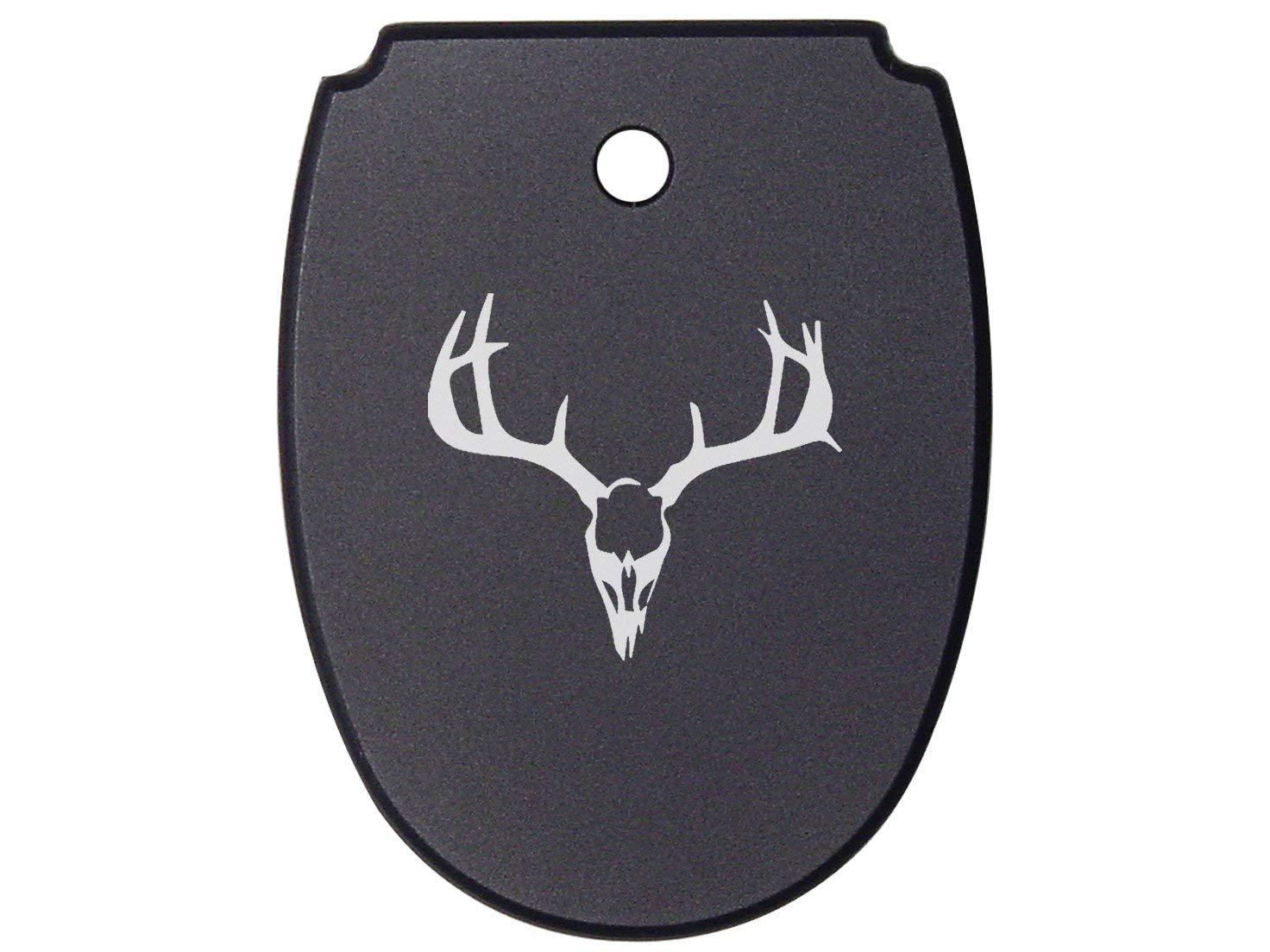 NDZ Performance For SIG SAUER P320 P250 Mag Plate Black 9mm .40 .357 Models Deer Skull 1