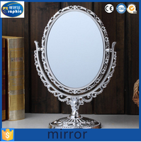 Wholesale plastic pearl hand held decoration mirror for sale