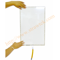 High Definition Ebook Reader 17 inch 5 Wire Touch Panel Resistive Touch Screen