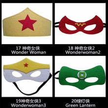 Cheap Wonder Woman Halloween Festival Mask as Promothion gifts