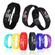 Promotional Gift Fun Shape Adjustable silicone hand led watches