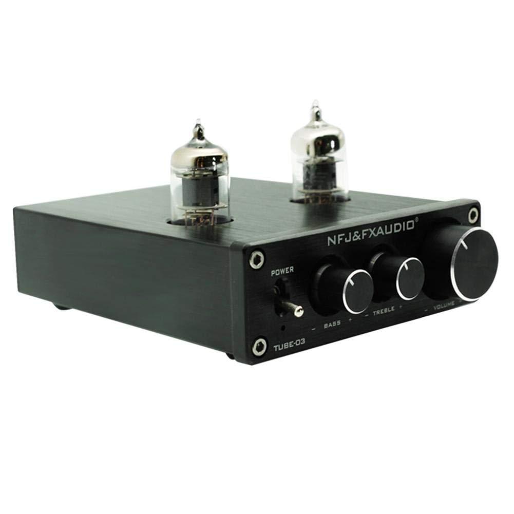 VANPOWER TUBE-03 HIFI Buffer 6J1 Tube Pre-amplifier Music Amplifier with Treble Bass