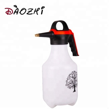 2 L custom printing garden water spray bottle 1 liter foam pressure sprayer for garden farmer