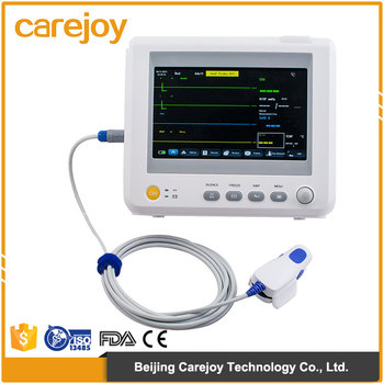 China Factory Sale Medical Equipment Handheld 7 Inch 6 Parameter Patient  Monitor With Capnography Optional Printer - Buy Patient Monitor,Handheld