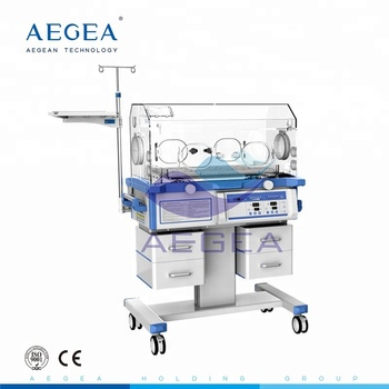 AG-IIR001C Alarms functions led phototherapy neonatal infant incubator price