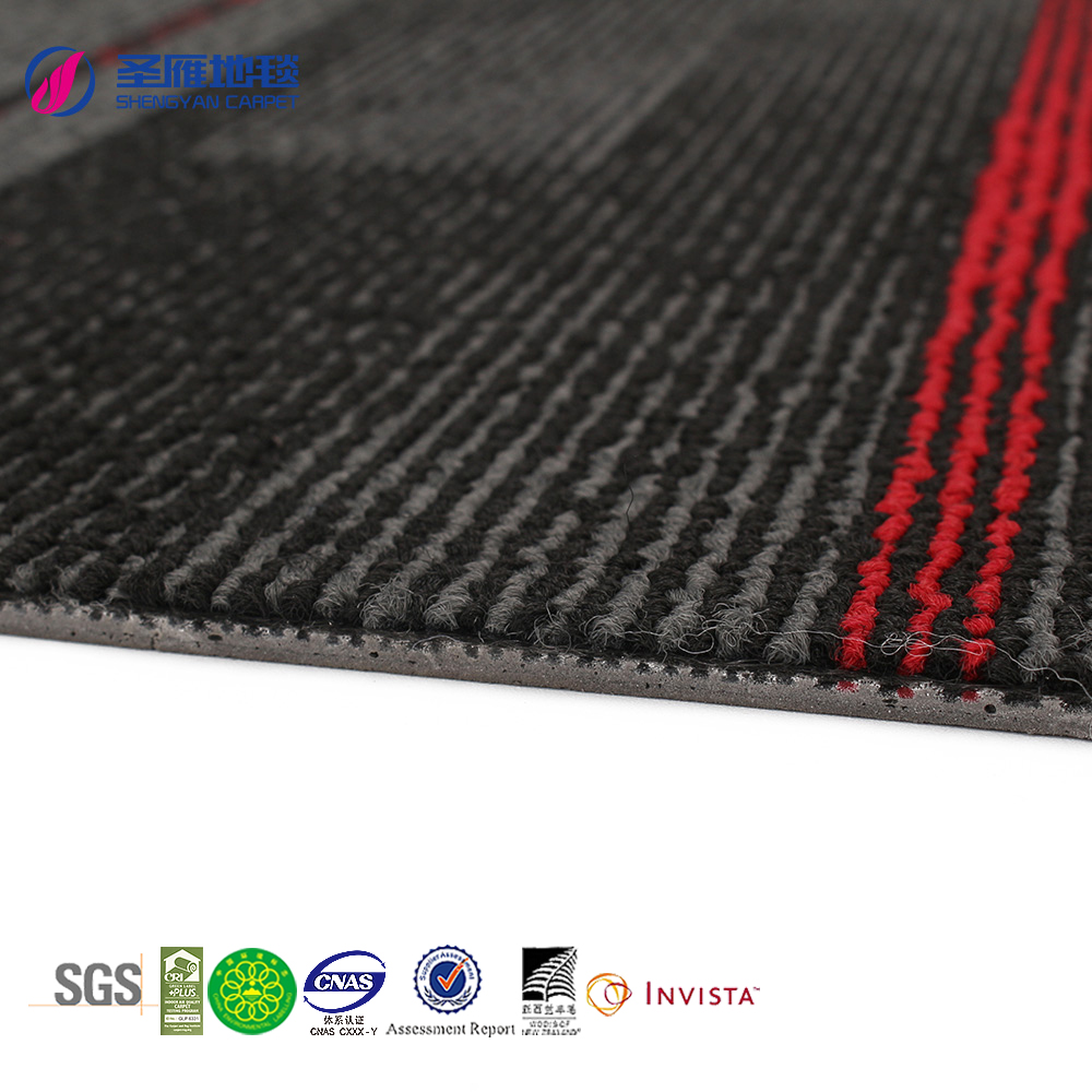 Best sales in malaysia industrial hexagon carpet tile