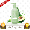 New Design 2017 Natural and Organic Kiwi Vitamin C Body Whitening and Lightening Lotion OEM/ODM Supplier