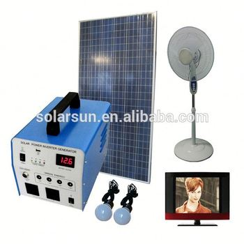 2015 New trendy products 220v solar power generator buy from china online