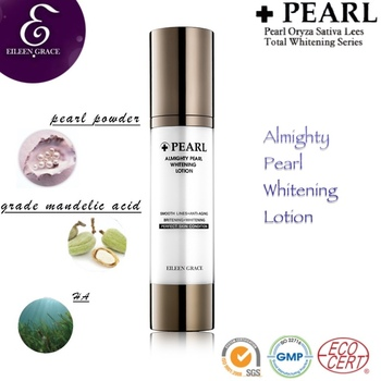 high quality pearl powder Skin Brightening Anti-aging Lotion