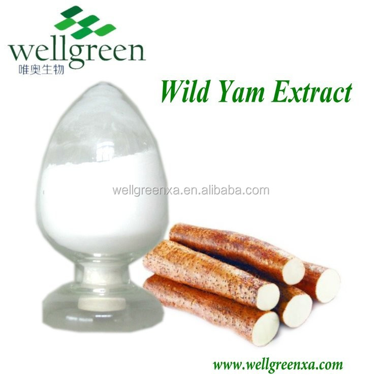 GMP&ISO honghao diosgenin 6% 16% high quality wild yam extract