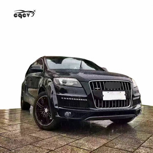 Best fitment for Audi Q7 to DJ body kits rear bumper facelift tuning parts