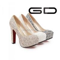 Wholesale Lady Platform Sandals Super High Heels Women Shoes For ...