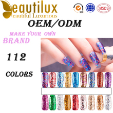 UV/LED GEL POLISH/Professional OEM/ODM Factory Fantastic Twinkling Gel Nail Polish