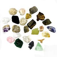Mixed 25 pieces/Pack raw natural rock quartz crystal and minerals,home decor rock and minerals specimen #DOI