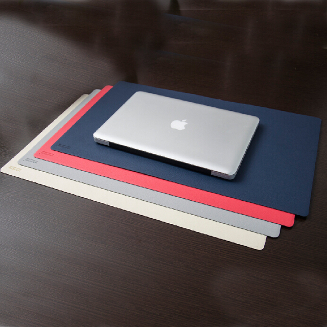 Good Quality PU Leather Office Computer Table Desk Mat