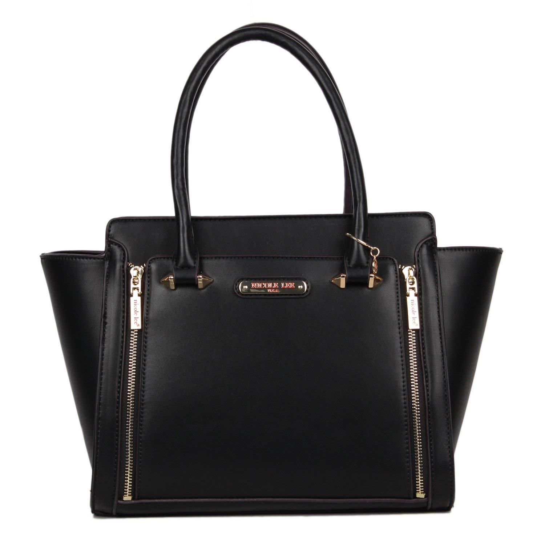 9db1ee9395 Get Quotations · Nicole Lee Nicole Lee Ciel Large Smart Lunch Handbag  (black) Travel Shoulder Bag