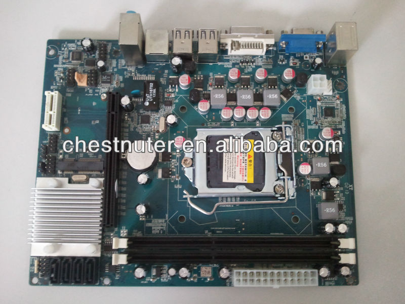 cheap desktop motherboard motherboard H61/LGA 1155 High Performance with i3, i5 , i7 cpu Support 2xDDR3
