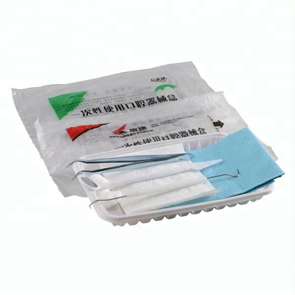 Disposable sterile surgical kit/dental surgical instruments medical examination kit price