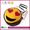 Popular customized material size Hand Bag 3D smile Faces Shoulder bags