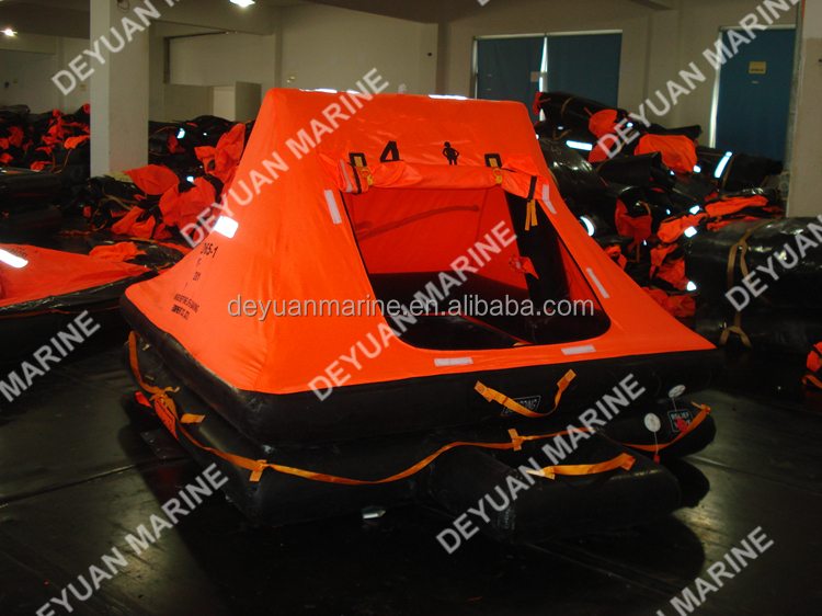 4 Man Yacht Inflatable River Life rafts for Solas standard