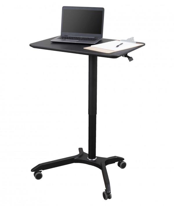 Modern Adjustable Height Stand Up Workstation Computer Laptop Desk Rolling
