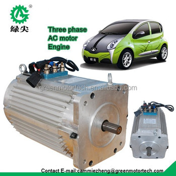 High Power Electric Motor And Controller For Electric