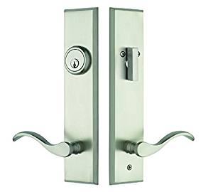 Get Quotations · Rockwell Verano Entry Door Lock Handle Set With Chelsea  Lever In Brushed Nickel Bronze Finish,
