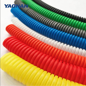 PA/PP/PE Plastic Flexible Corrugated Cable Wire Hose Pipe/6 Inch Corrugated Pipe