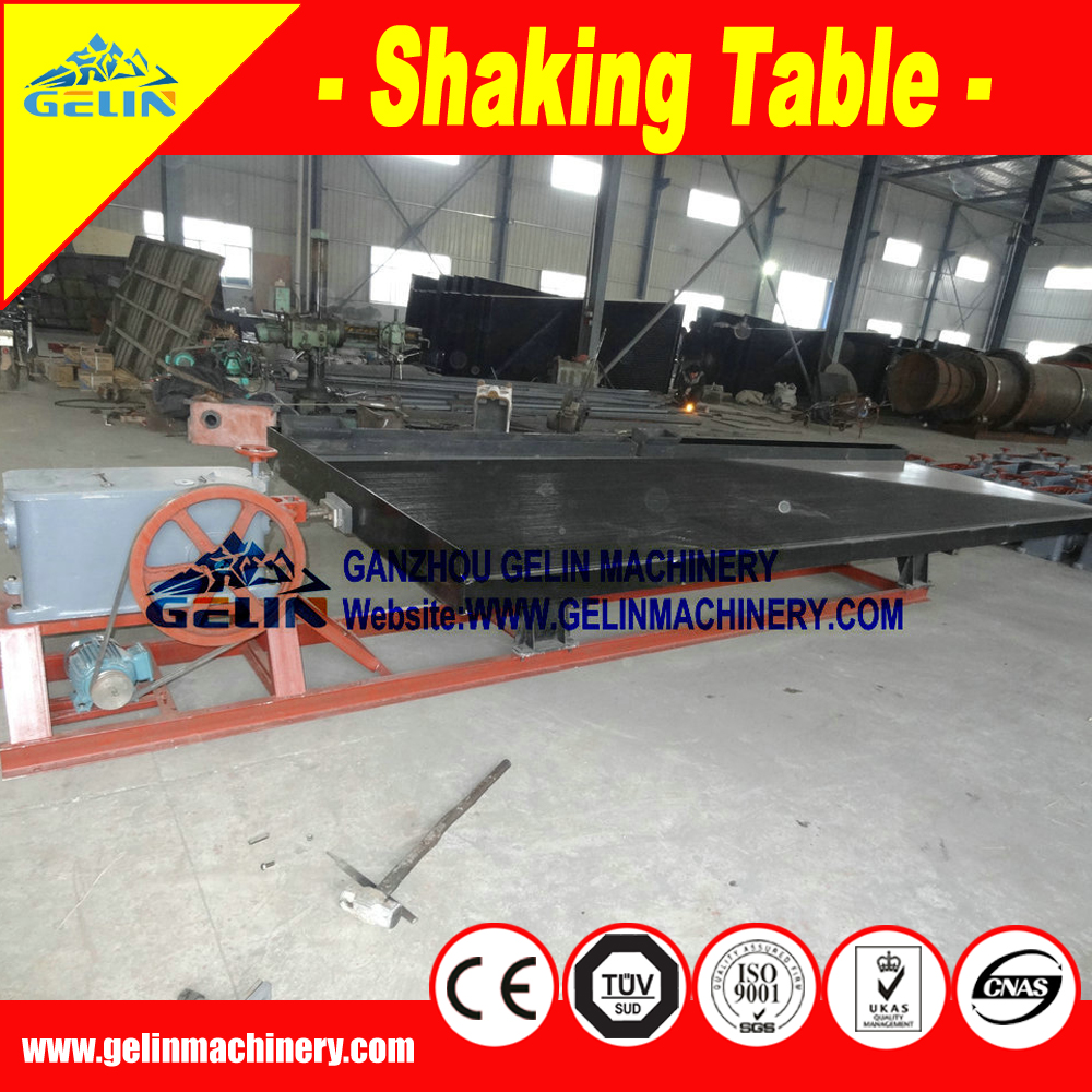 2014 most popular shaking table for manganse