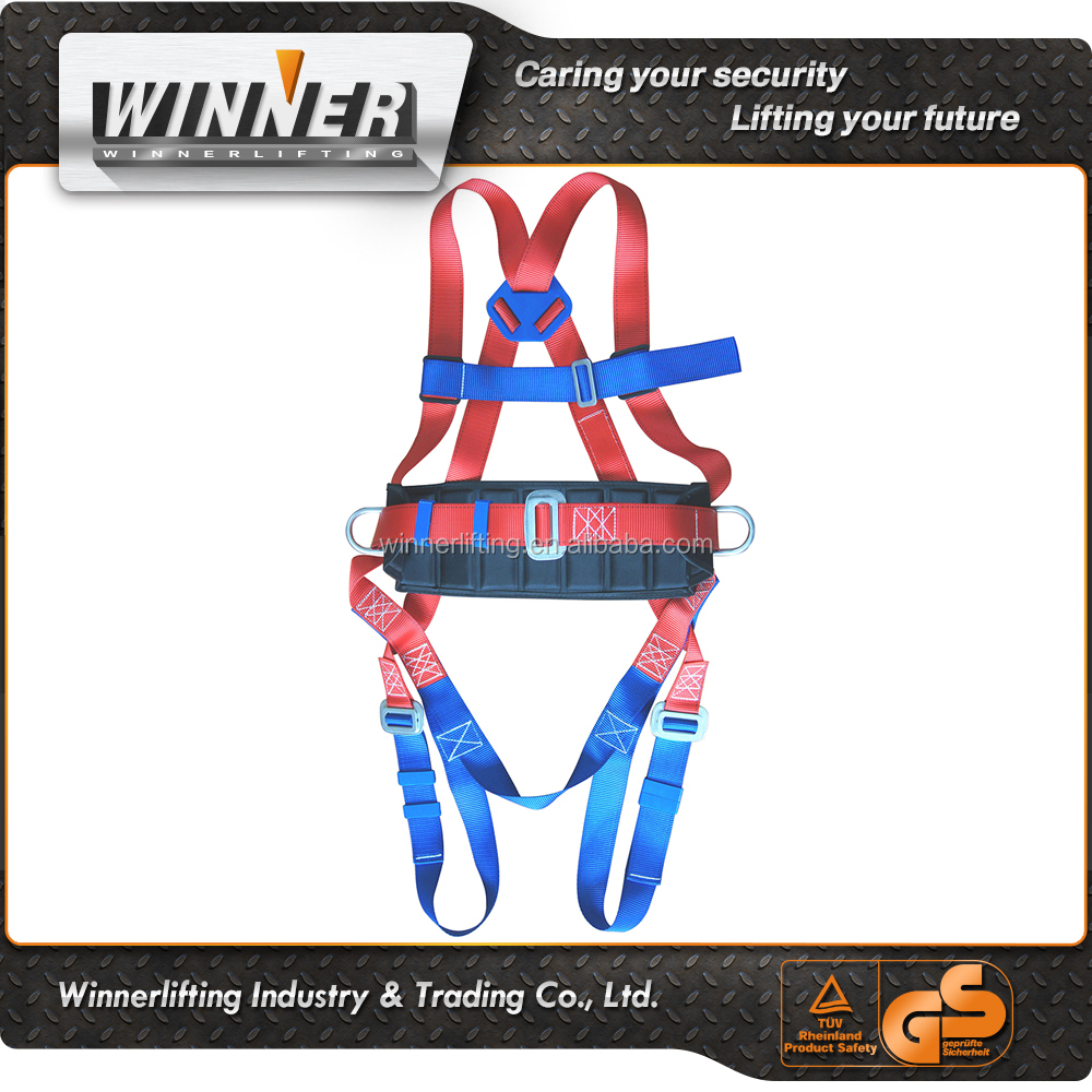 Industrial Fire Fighting Full Body Safety Harness/Belt Lanyard