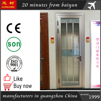 Aluminium Door For Bathroom With Grill Tempered Glass Door In Sri Lanka Buy Aluminum Doors