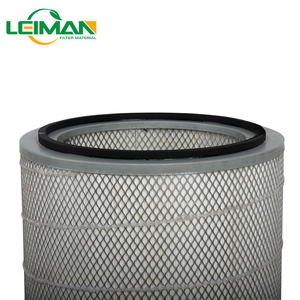 Manufacturer Dust Extraction System Industrial Polyester Pleated Air Filter Cartridge