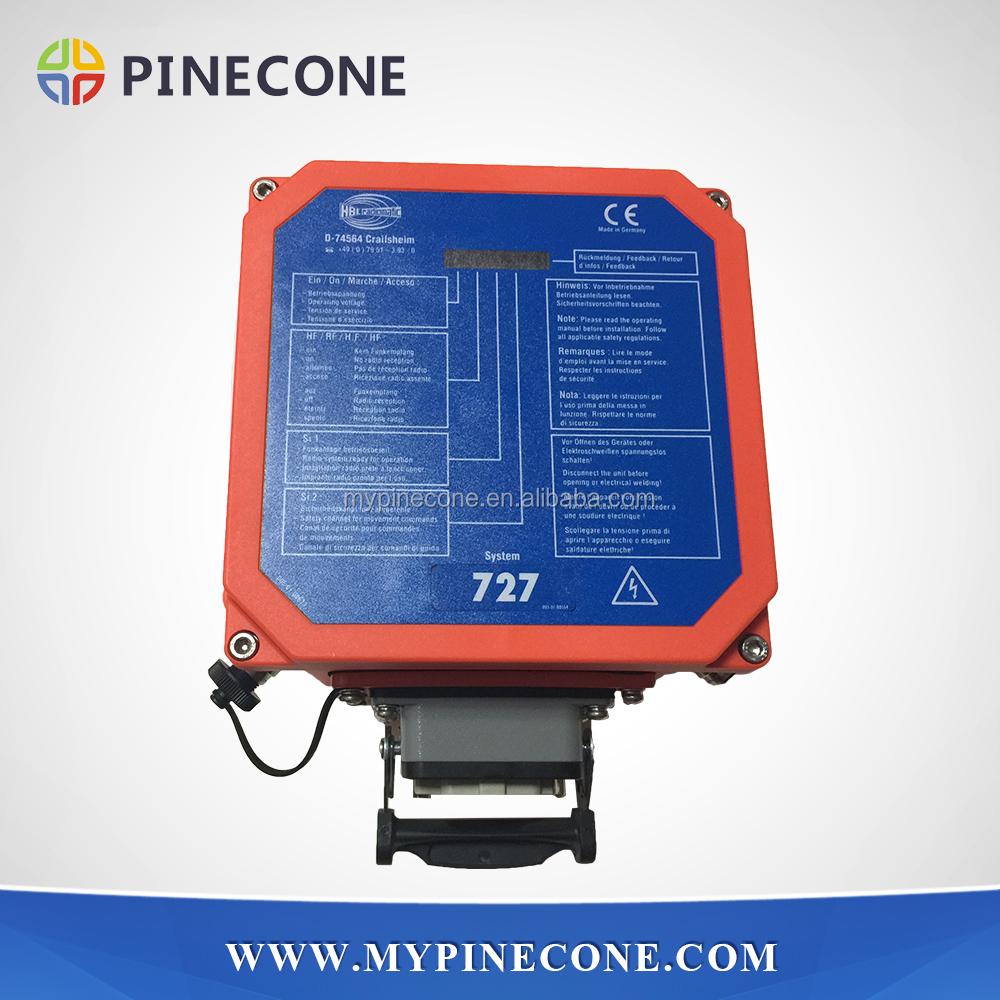 Concrete Pump Spare Parts Hbc 727 Remote Control /remote Controller 6 Booms  With Lcd Screen For Zoomlion & Sany Concrete Pump - Buy Hbc 727 Remote