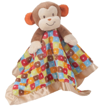 hooded baby towel/baby hooded towel/cotton monkey towel