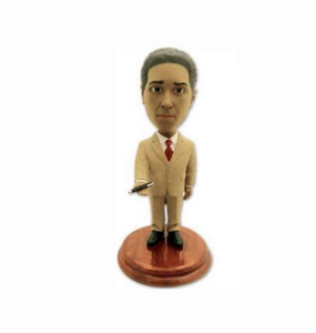 Factory Custom made best home decoration gift polyresin resin office bobblehead