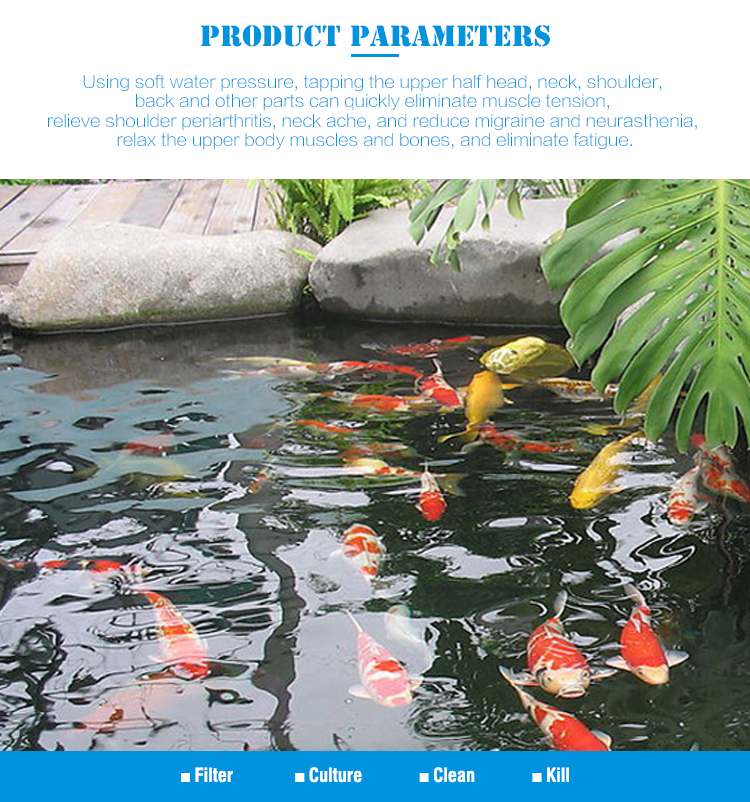 China Supplier Low Price Fish Pond Filter (EF-15000) For Fish Farm