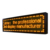 P10 single color outdoor open led signs board programmable led sign display