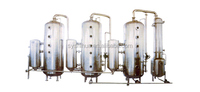WZ 111 500-5000 Tri-effect Energy Conservation External Circulating Vacuum Concentrator (Reclaim Alcohol)