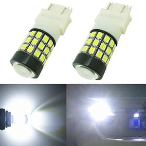 Alla Lighting 2pcs Super Bright 6000k Xenon White Led Rear Turn Signal Lights Bulbs Replacement For